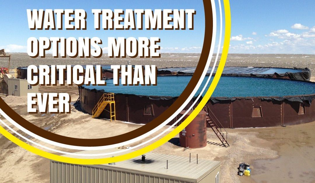 Water Treatment Options More Critical Than Ever